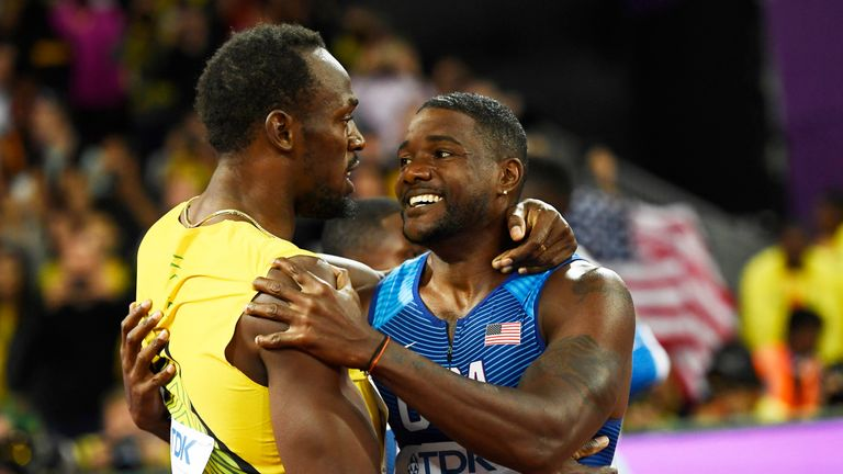 Usain Bolt and Justin Gatlin
