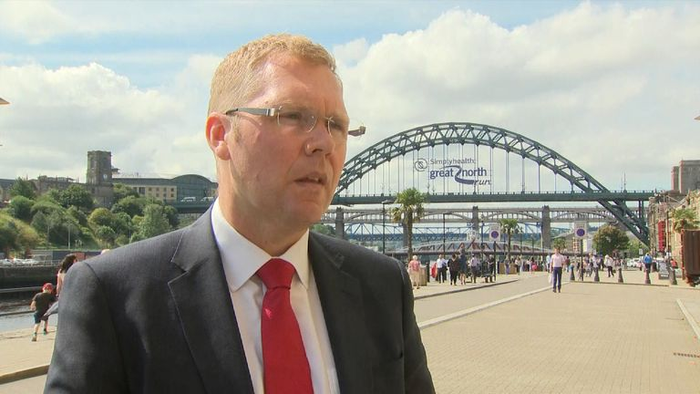 Newcastle city councillor Nick Forbes defends the way the city is tackling sexual exploitation
