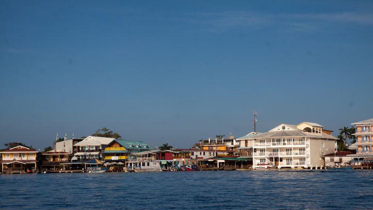 A file picture of Bocas del Toro, Panama