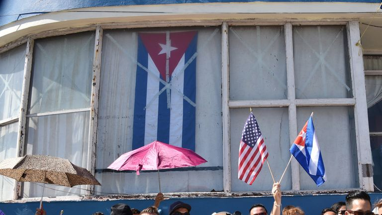 Diplomatic relations between the US and Cuba were reinstated in 2015