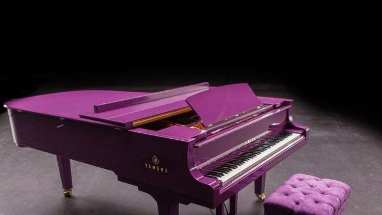 Prince's Yamaha piano. Courtesy: Prince's Estate