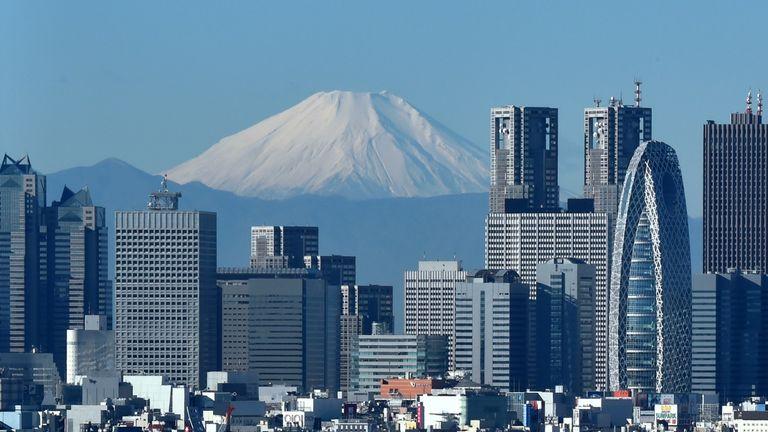 The Japanese capital. Tokyo