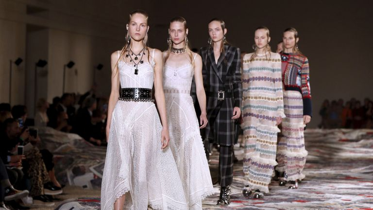 The company stocks high-end fashion such as Alexander McQueen