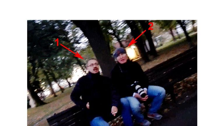 Eduard Shishmakov and Vladimir Popov. Both men are said to be members of the GRU, Russian military intelligence