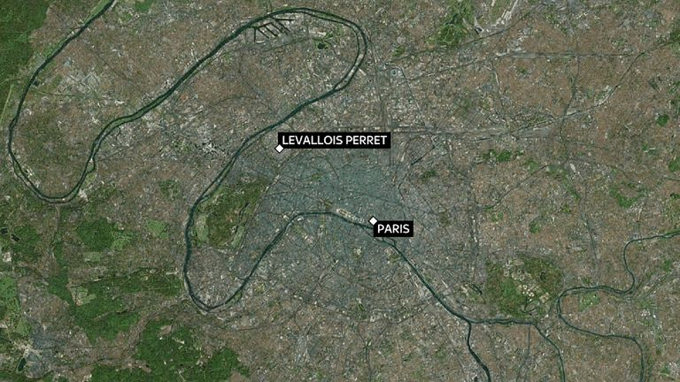 SOLDIERS HIT BY CAR IN PARIS