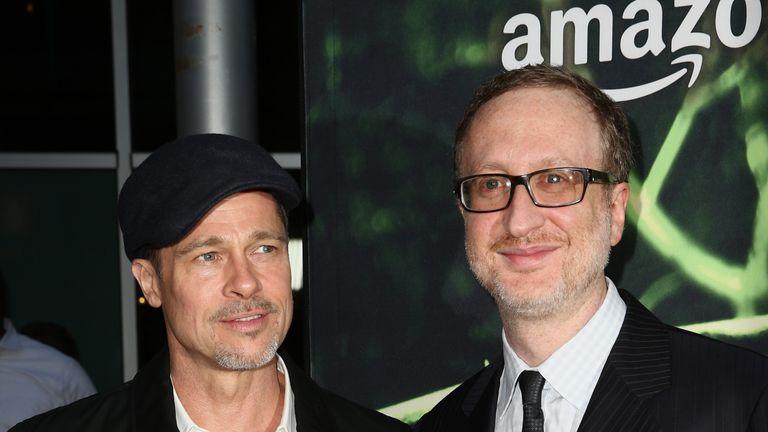 Brad Pitt and director James Gray