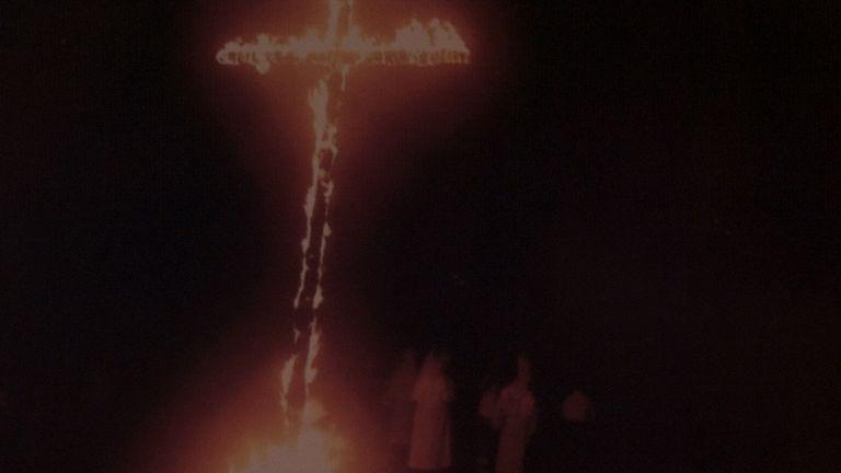 Pictures inside the KKK HQ in Harrison, Arkansas