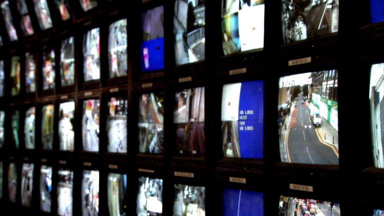 Police CCTV cameras