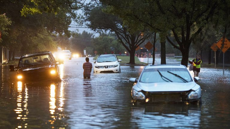 Up to 20 more inches of rain could fall in the coming days