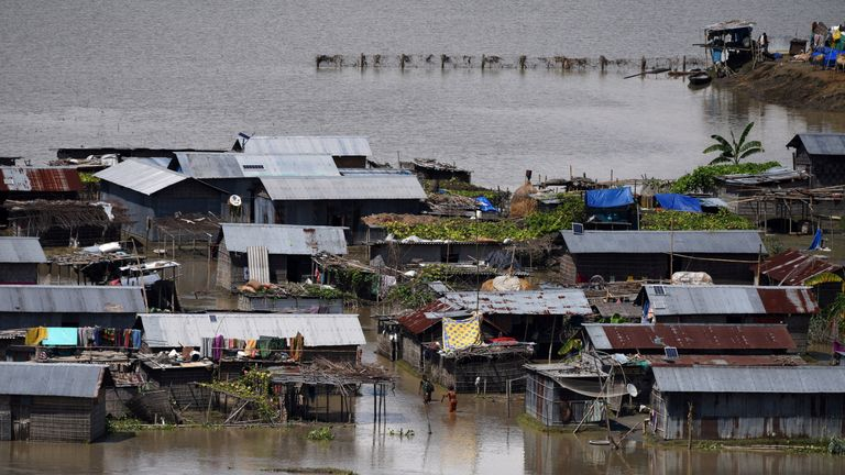 100 deaths were reported overnight across India and Balngladesh