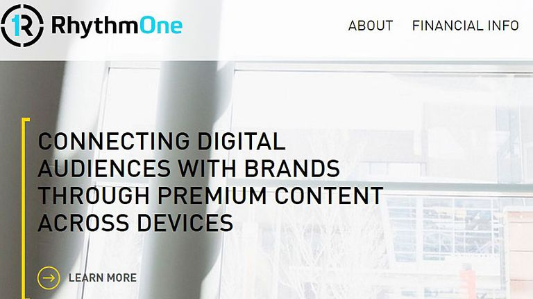 """RhythemOne describes itself as a """"major player in the digital advertising space"""""""
