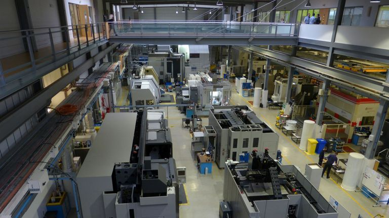 The University of Sheffield's Advanced Manufacturing Research Centre