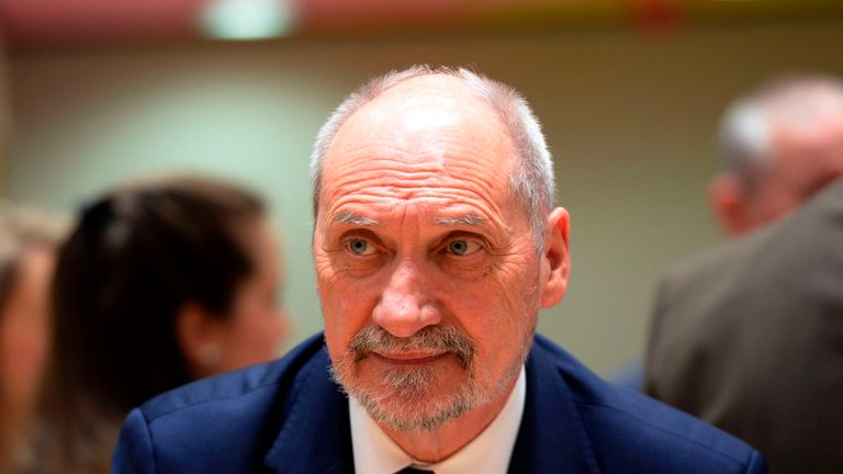 Polish defence minister Antoni Macierewicz said Germany needs to pay its debts