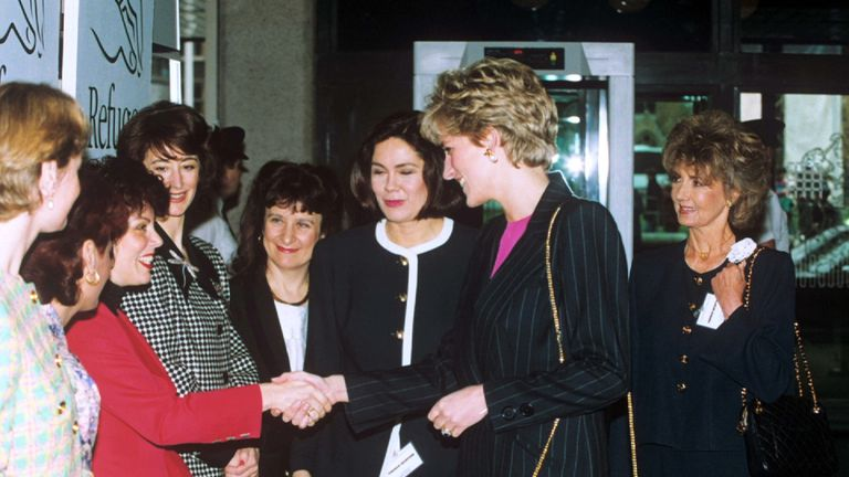 Ruby Wax says she was 'star-struck' meeting Princess Diana for the first time