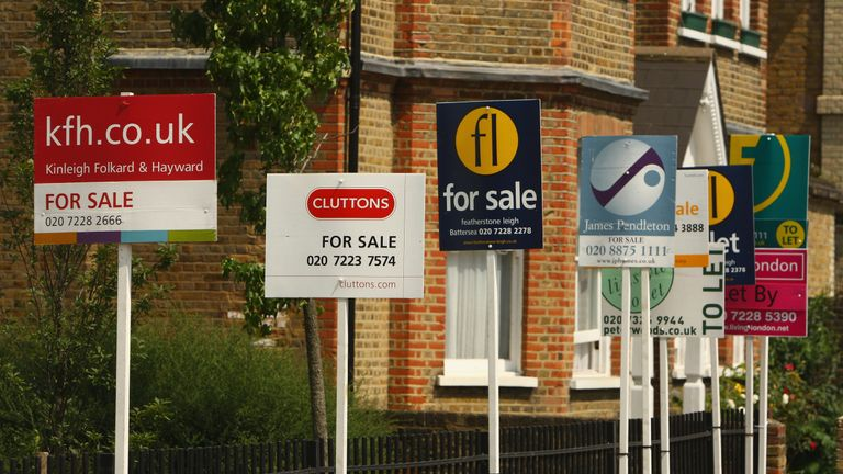 Property for sale boards