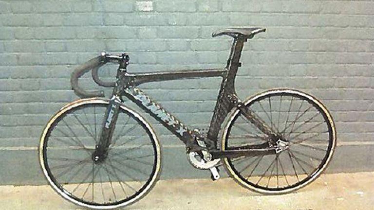 The bike allegedly ridden by Charlie Alliston