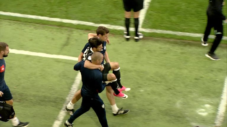 Injury setback for Piazon   Video   Watch TV Show   Sky Sports