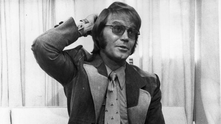 Glen Campbell when he replaced Brian Wilson during The Beach Boys tour in 1976