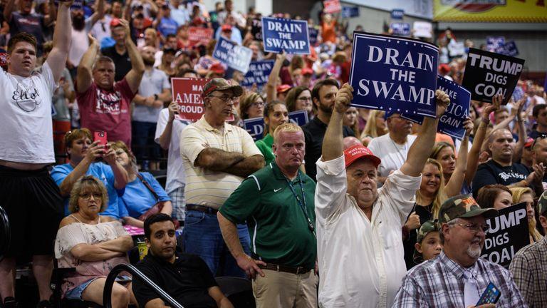 Trump rally in Virginia