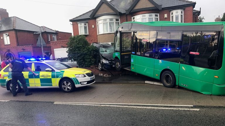 The accident happened in St Helens. Pic: Phil Gadd