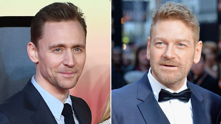 Tom Hiddleston and Kenneth Branagh