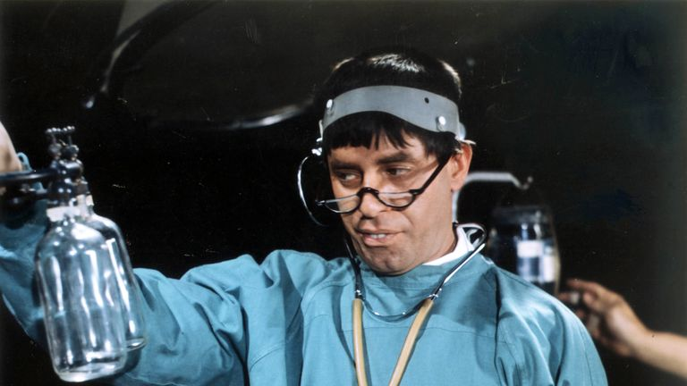 Jerry Lewis in The Nutty Professor. Pic: Moviestore Collection/REX/Shutterstock