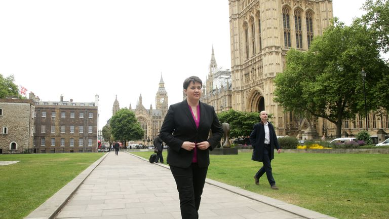 Ms Davidson expressed irritation at the 'screeds of news' dedicated to the famous bell falling silent