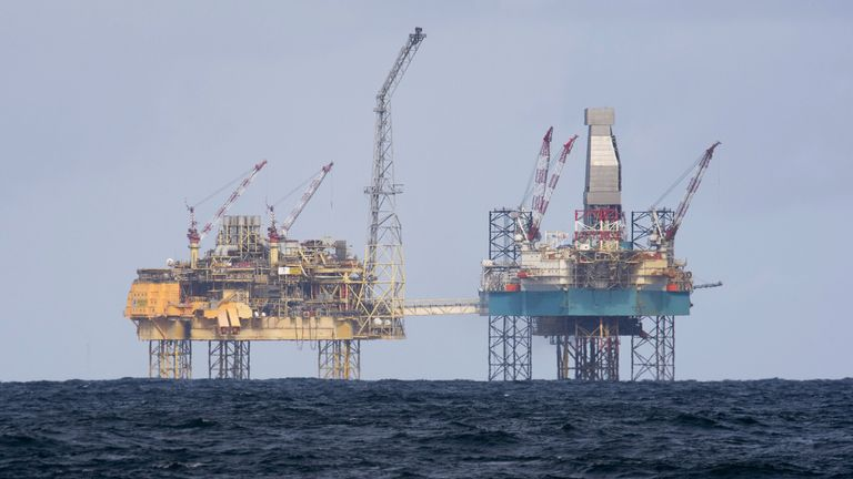 Total already have a presence in the North Sea, operating three oil rigs off the coast of Aberdeen