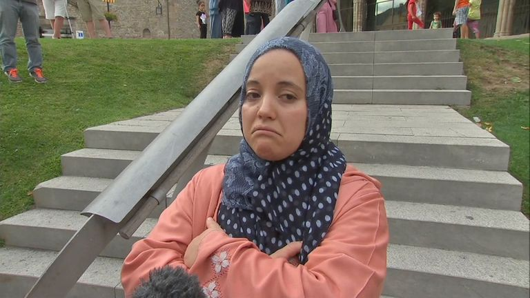 Cousin of van suspect Younes talks to Sky News as Muslim community in Ripoll condemns attacks in Spain - Kiley VT