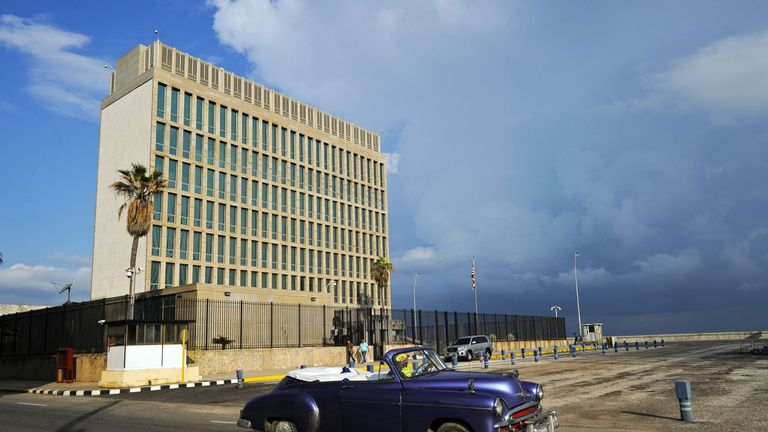 The US Embassy in Cuba is located in Havana
