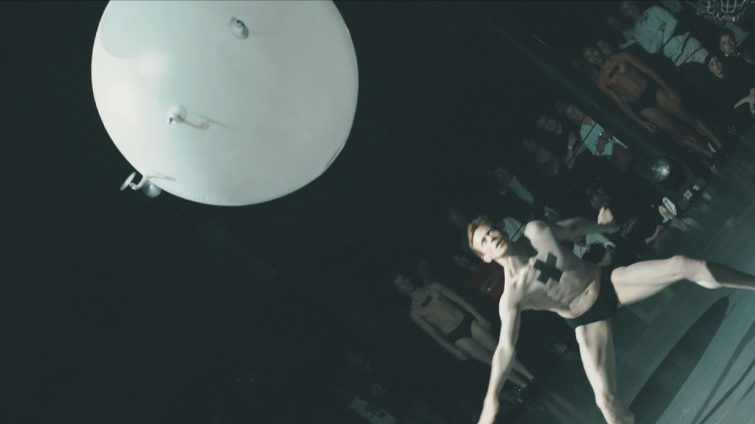 Performance art meets artificial intelligence. Pic: Roundhouse