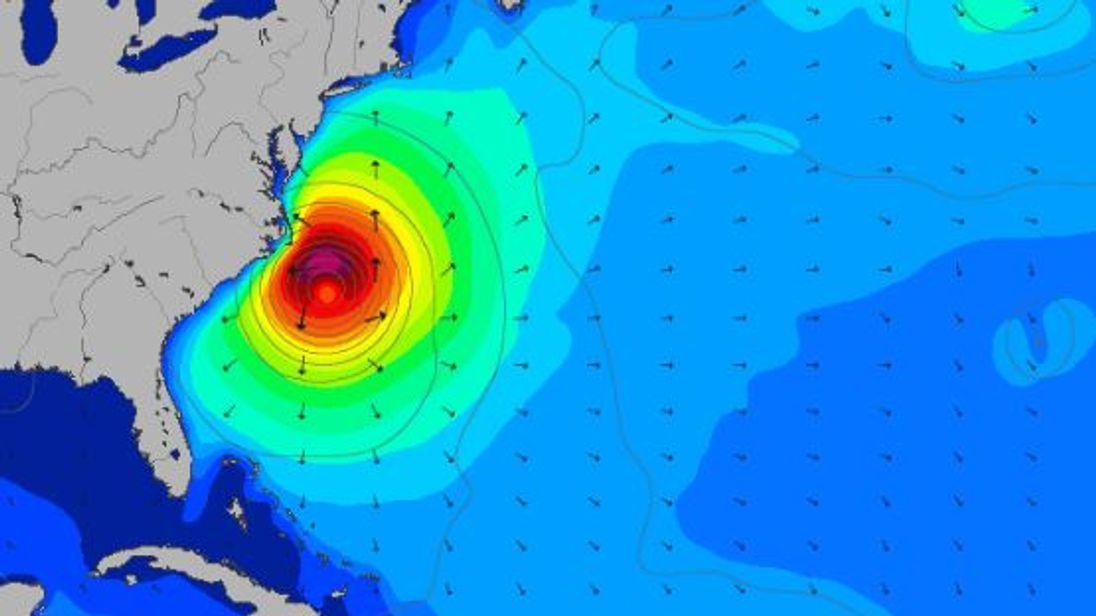 Hurricane Maria will cause dangerous swells along the Atlantic coast