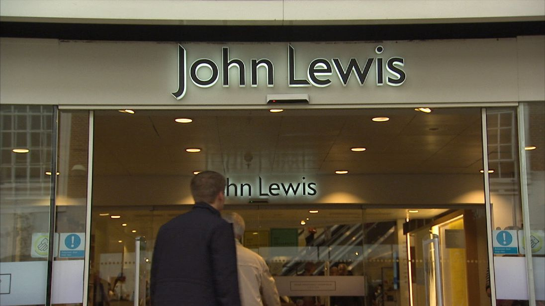 John Lewis facing high street pressure after profits plunge