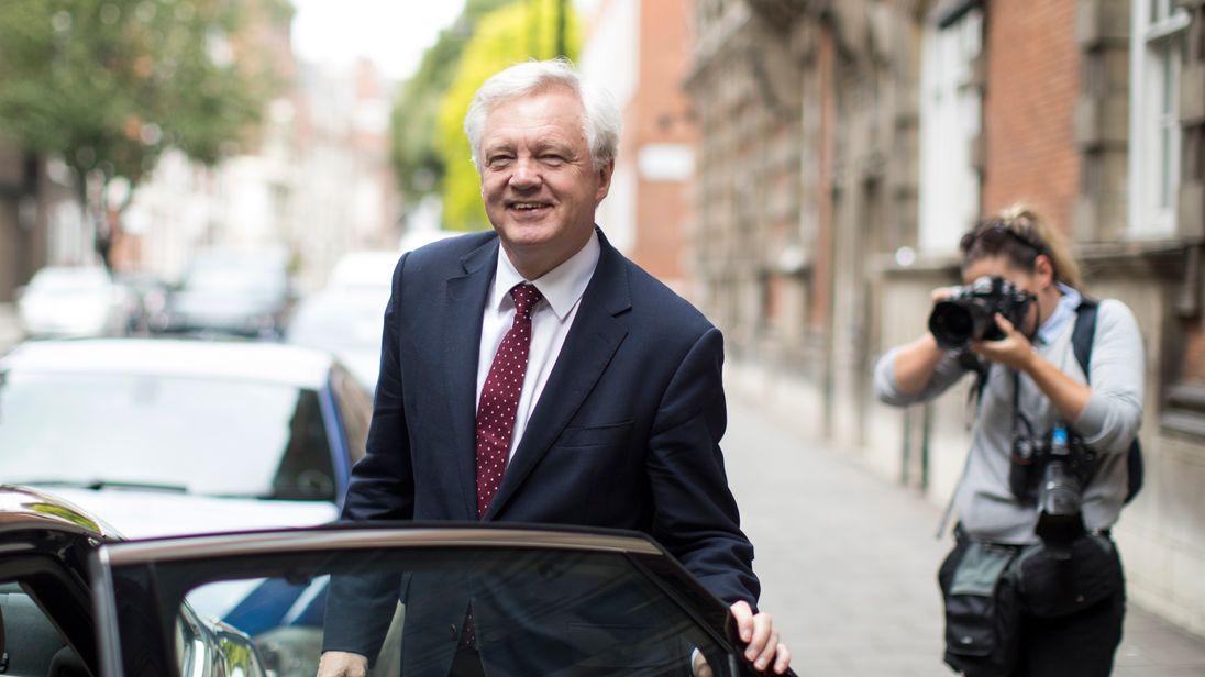 David Davis insists progress has been made in the talks