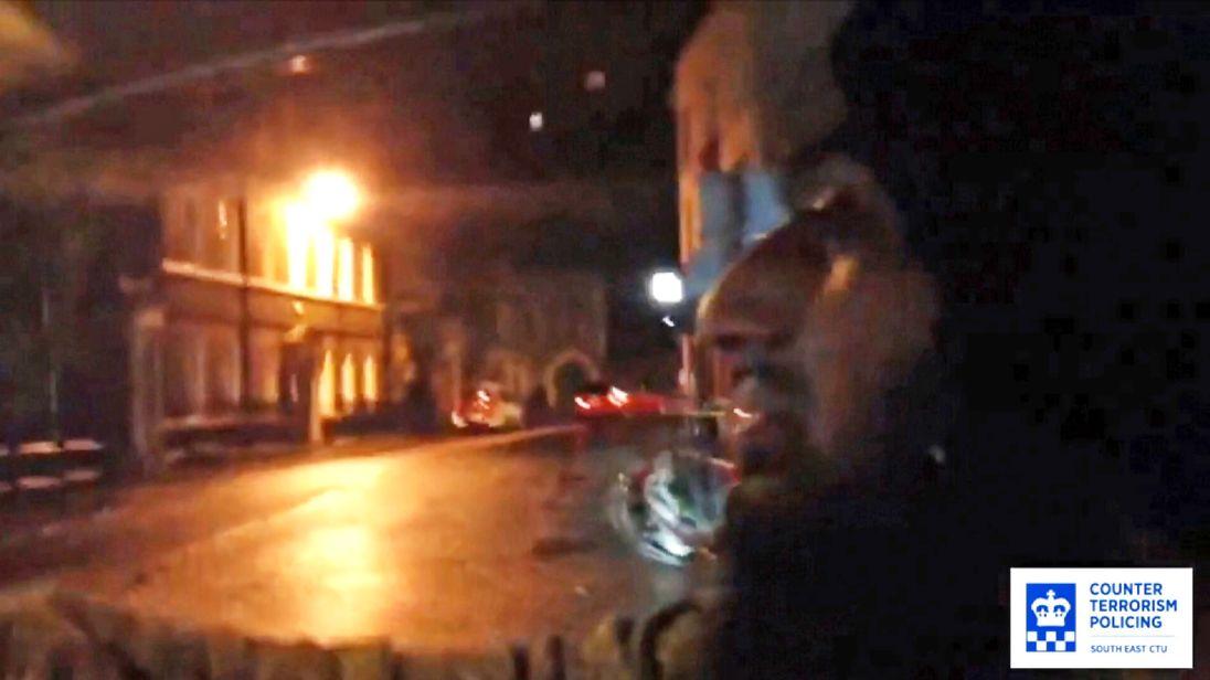 Taha Hussain has been convicted of filming jihadi videos at Windsor Castle.