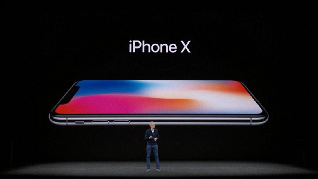 Apple unveils the iPhone X