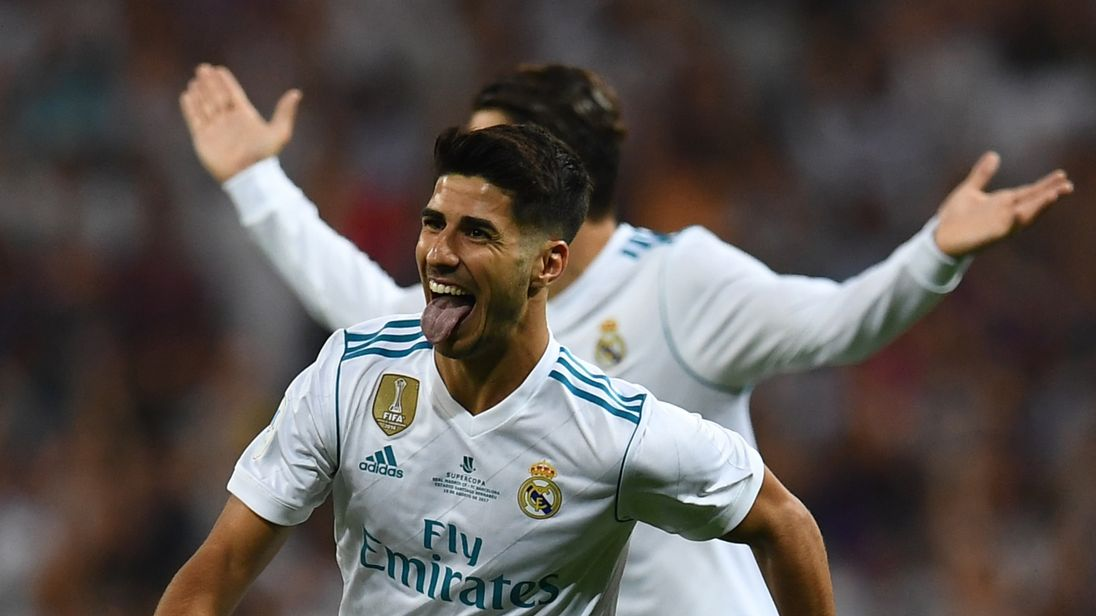 Marco Asensio reportedly got an infection while shaving his legs