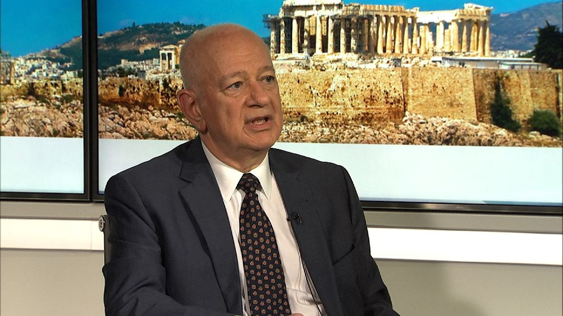 Dimitri Papadimitriou is Greece's Economy Minister