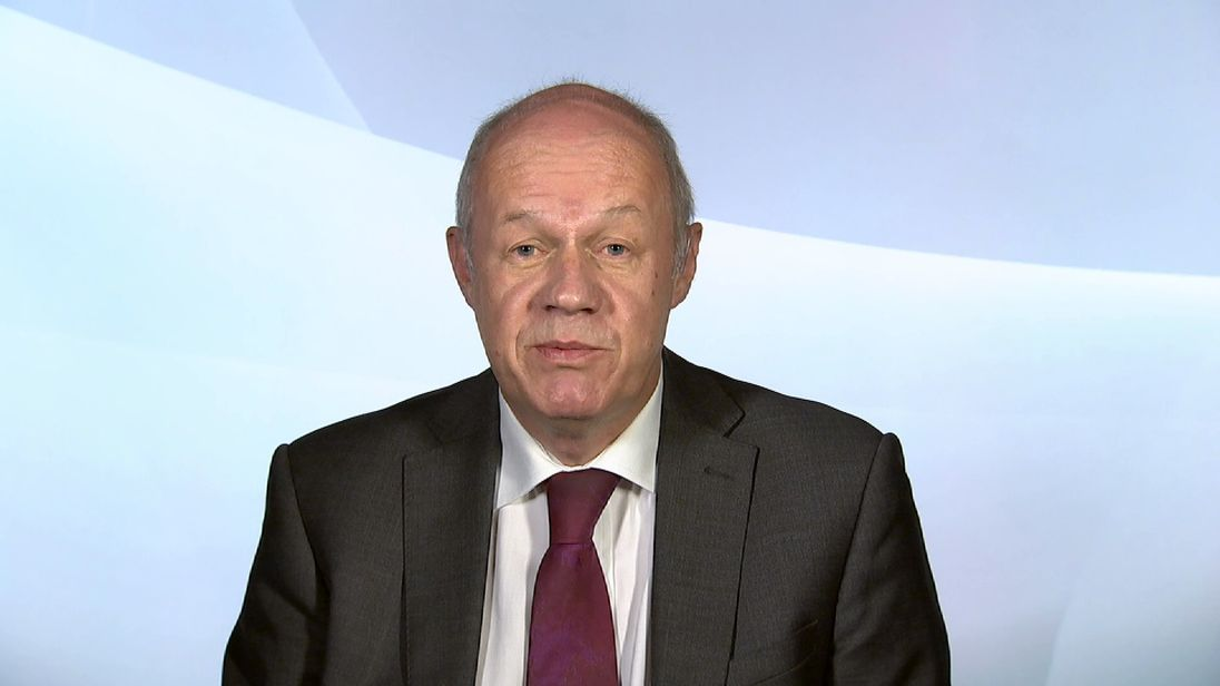 FIRST SECRETARY OF STATE DAMIAN GREEN MP