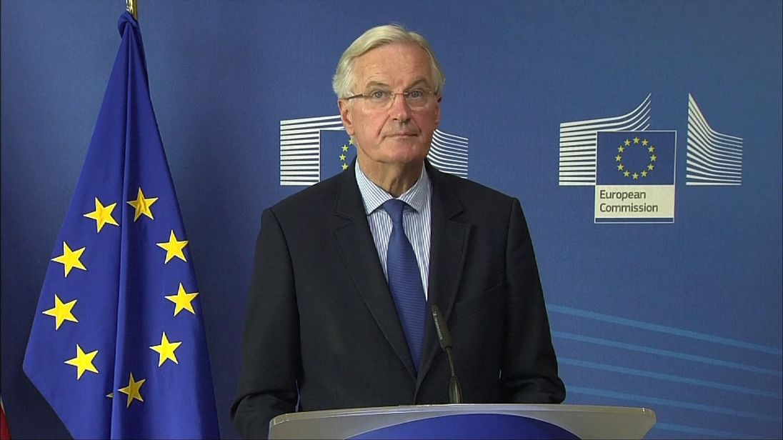 Michel Barnier keen to make progress on Brexit after Theresa May's speech in Florence