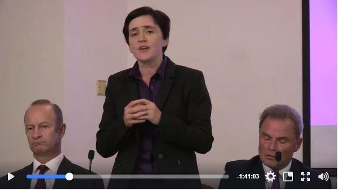 UKIP leadership candidate Anne Marie Waters