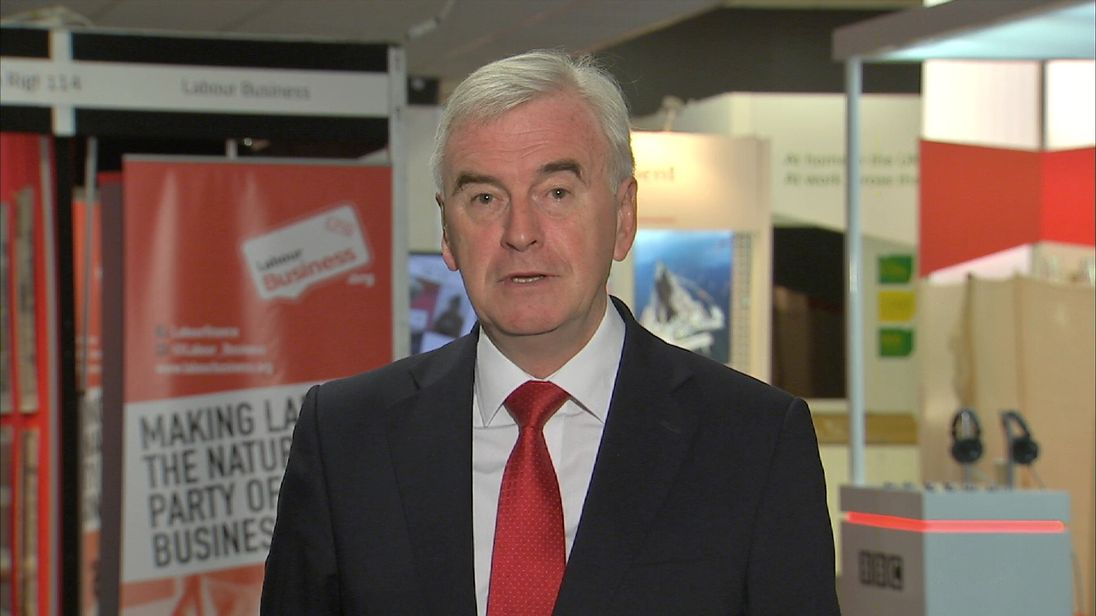 John McDonnell says Brexit debate will not be curbed