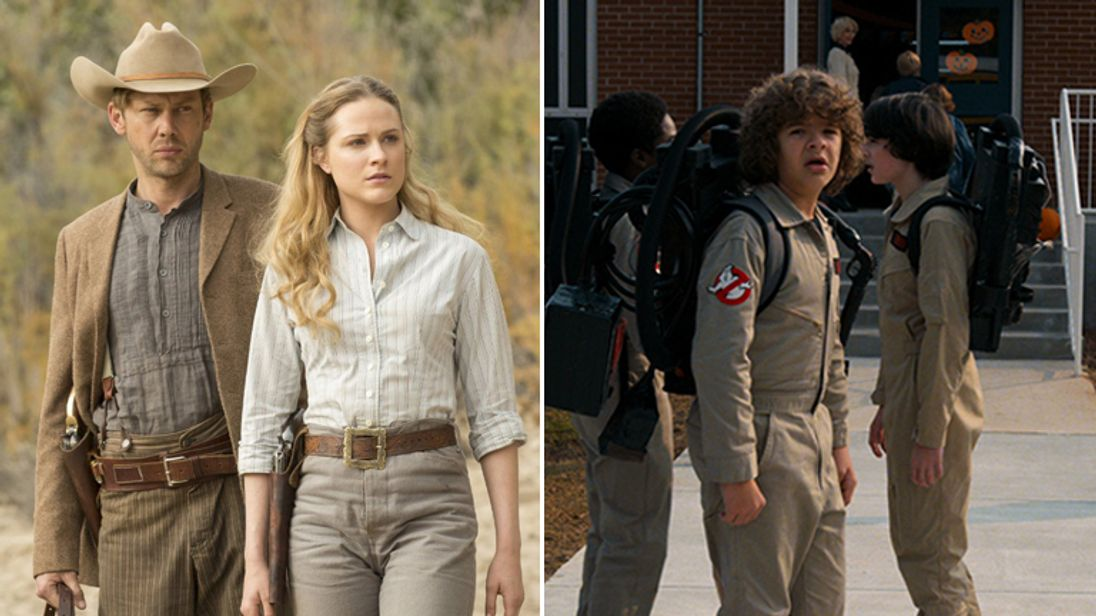 Westworld and Stranger Things