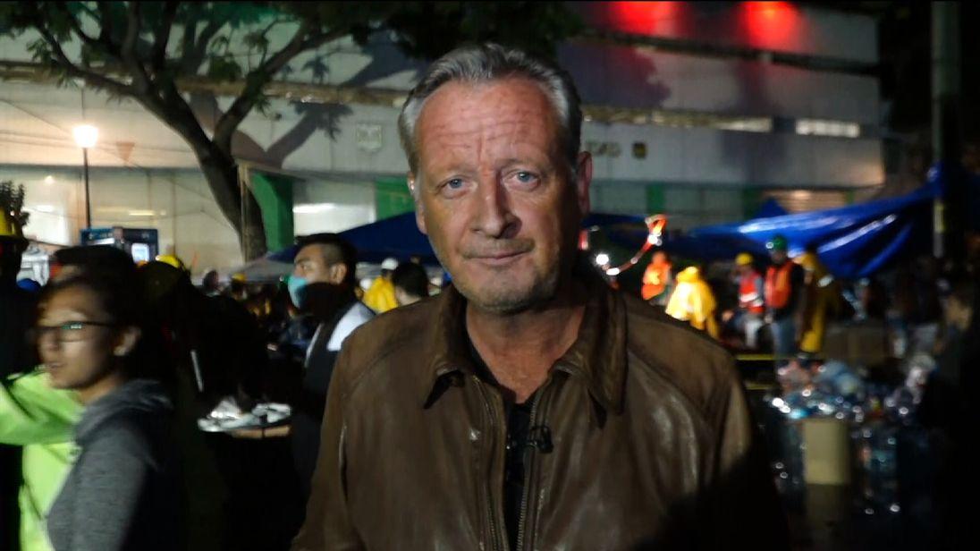 Stuart Ramsay reports from Mexico City