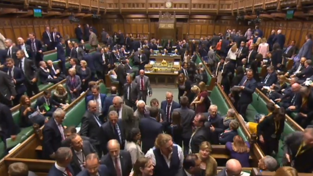 MPs vote on an amendment to give the Tories a majority on the Standing Committee