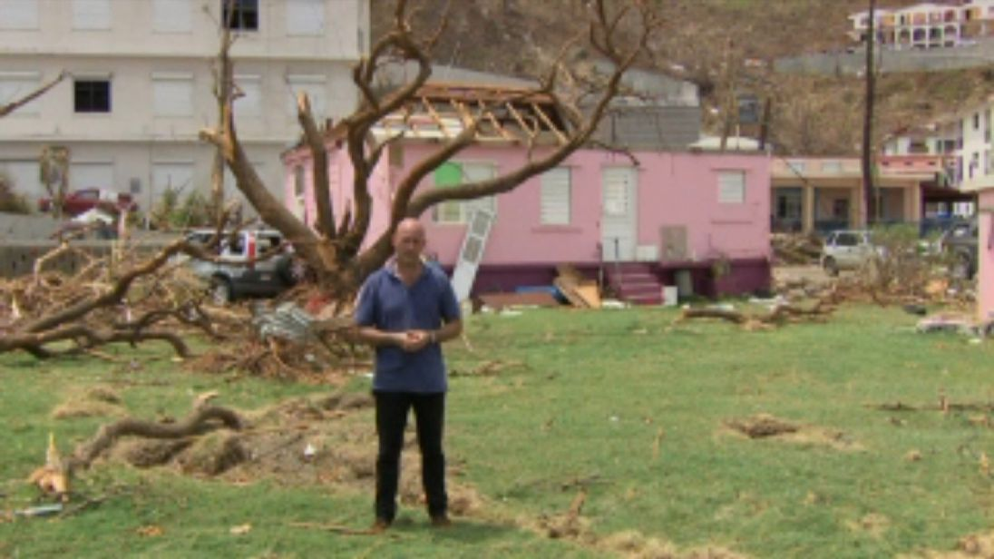 Sam Kiley reports from the British Virgin Islands after Hurricane Irma caused widespread destruction