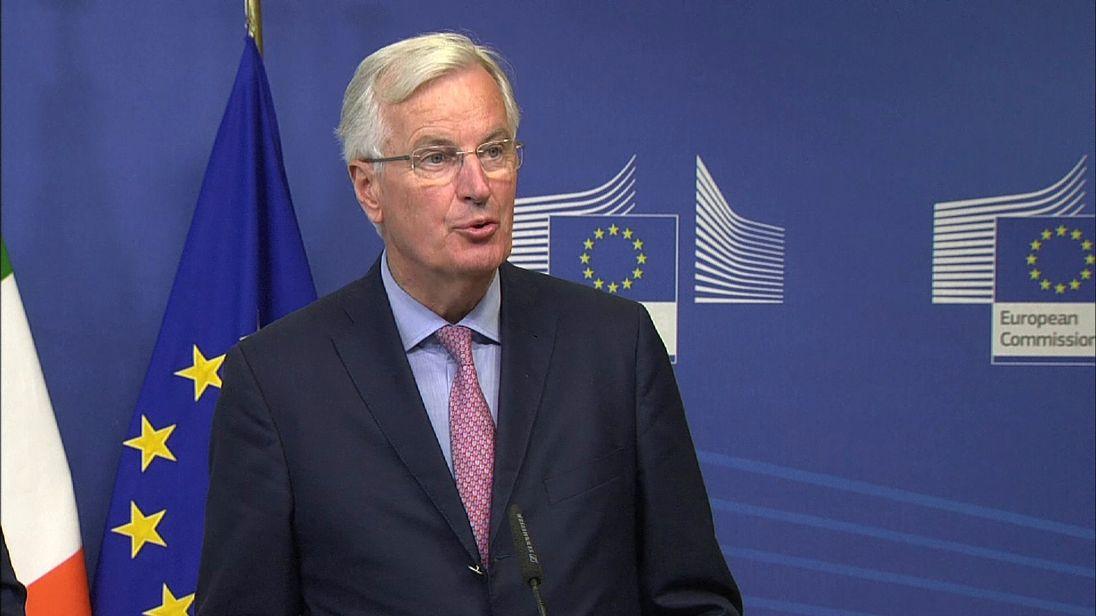 EU's chief negotiator, Michel Barnier