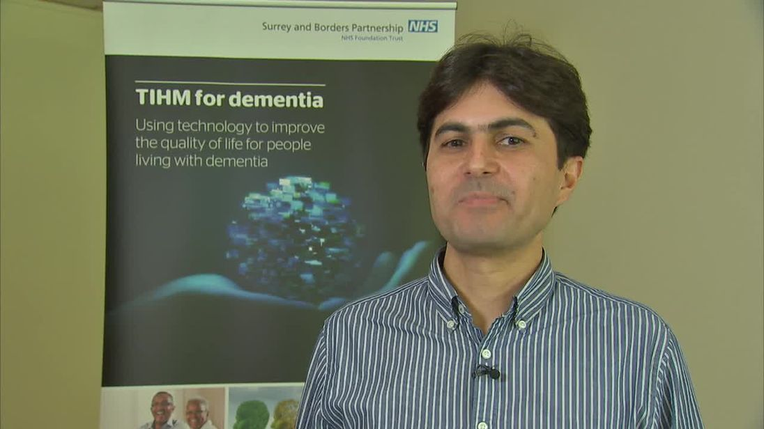 Dementia sufferers trial new technology