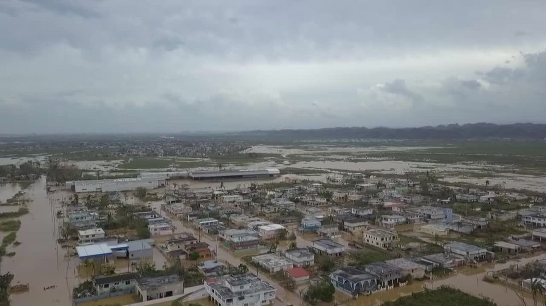 Trump races to catch up as Puerto Rico crisis escalates