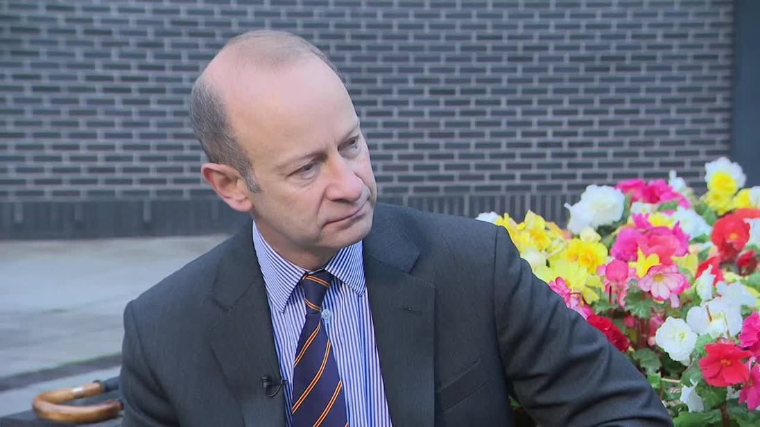 UKIP leader Henry Bolton